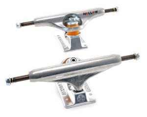 TRUCK INDEPENDENT 139 HOLLOW FORGED SKATEBOARD STAGE 11 RAW SILVER