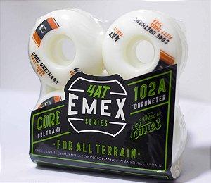RODA EMEX IMPORTADA  ORANGE AND GRAY BRANDS 53MM - SERIE 4AT