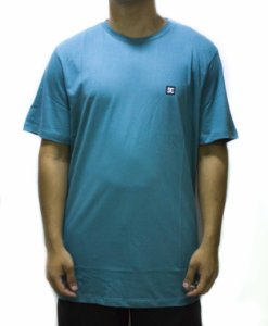 CAMISETA DC SHOES STAR SUPER TRANSFER - AZUL TURQUESA