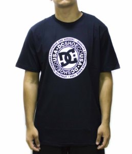CAMISETA DC SHOES STAR CIRCLE - PRETA