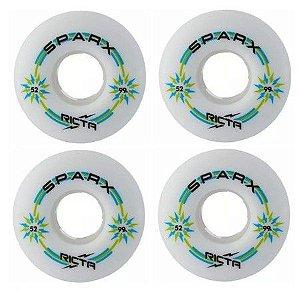 Roda Ricta 52mm Sparx White 99a Importada