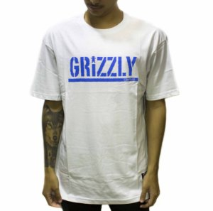 CAMISETA GRIZZLY STAMPED BRANCA