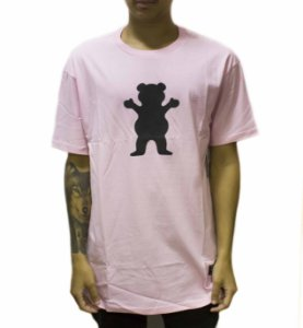 CAMISETA GRIZZLY OG BEAR S/S TEE - PINK