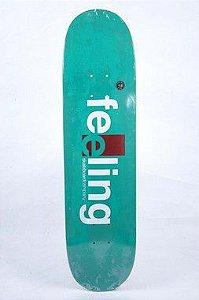"""Shape Feeling fiberglass verde 8.0"""" + LIXA"""