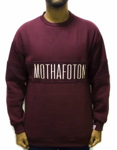 MOLETOM FOTON CARECA MOTHA CUTOUT - VINHO