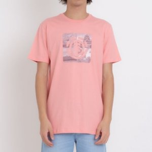 CAMISETA ELEMENT FOUR SEASON LOGO - ROSE