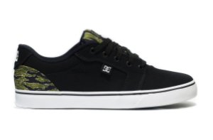 TÊNIS DC SHOES ANVIL TX BLACK/CAMU