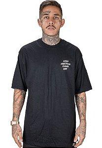 Camiseta Wanted – Hustle Club preto
