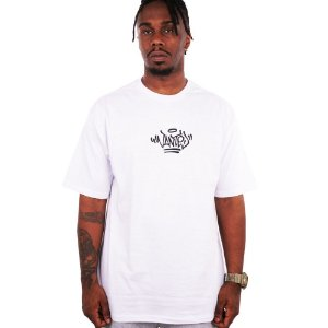 Camiseta Wanted – Logo Pixo branco