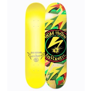 "SHAPE ELEMENT MAPLE BAD BRAINS X NYJAH 8.25"" + LIXA EMBORRACHADA GRÁTIS"