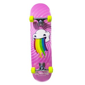 "SKATE HONDAR RED IMPORTADO MONTADO PRO RAINBOW - NEW ""MAPLE"""