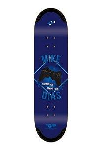 """Shape 4M Tip Technology Mike Dias Controle 8,125"""" Azul + Lixa grátis"""