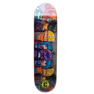 "SHAPE CONCEPT SKATEBOARD MINI MONSTERS 8.0"" + LIXA GRÁTIS"