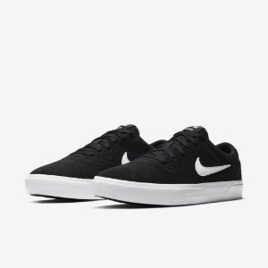 Tênis Nike SB Charge Suede Black White