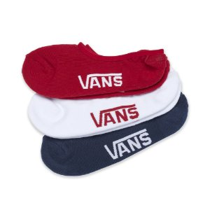 MEIA VANS INVISÍVEL CLASSIC SUPER NO SHOW - COLOR ( 3 PARES )