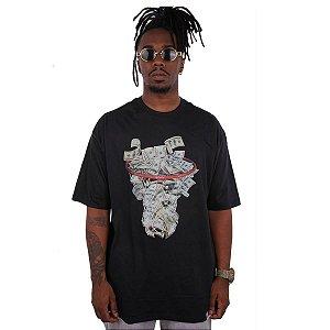 Camiseta Wanted – Dollar Basket - Preta