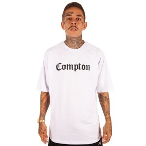 CAMISETA WANTED – COMPTON - BRANCA