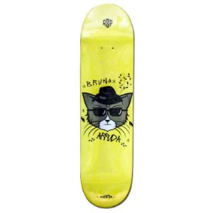 "SHAPE ASPECTO GANG PRO MODEL BRUNO ARRUDA HEAT TRANSFER 8.12"" + LIXA GRATIS"