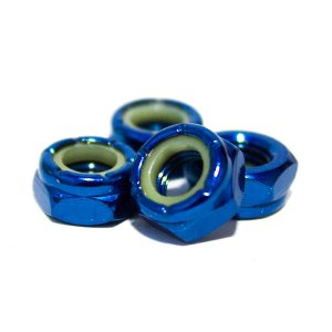 Porca Truck 13 importada Azul - Jogo c/4