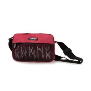 SHOULDER BAG CHRONIC RETANGULAR LOGO - VERMELHA
