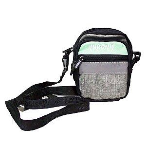 SHOULDER BAG CHRONIC REFLECTIVE - CINZA/VERDE