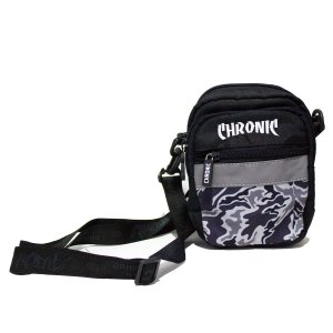 SHOULDER BAG CHRONIC REFLECTIVE - CAMUFLADO/CINZA/PRETO