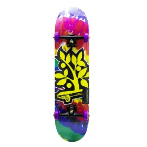SKATE MONTADO WOOD LIGHT SKATEBOARD TIE DYE DROPPY SKATEBOARDS
