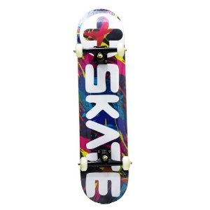 SKATE MONTADO MAIS SKATEBOARD LOGO COLOR SKATEBOARDS