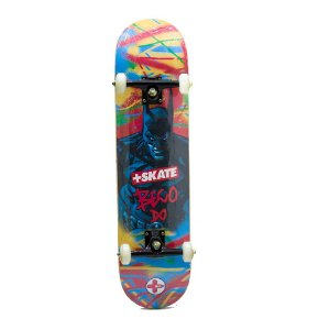 SKATE MONTADO MAIS SKATEBOARD SUPER HERO