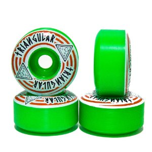 RODA TRINGULAR BASIC GREEN 53mm 98a