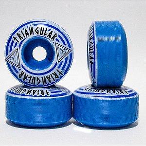 RODA TRINGULAR BASIC BLUE 53mm 98a