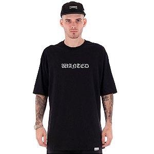 Camiseta Wanted – OG Logo - Preta