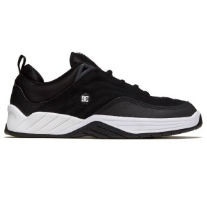 TÊNIS DC SHOES WILLIAMS SLIM BLACK/WHITE - EXCLUSIVO