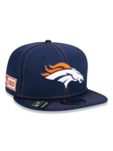 BONÉ NEW ERA 9FIFTY NFL ON-FIELD SIDELINE DENVER BRONCOS