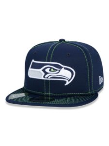 BONÉ NEW ERA 9FIFTY NFL ON-FIELD SIDELINE SEATTLE SEAHAWKS