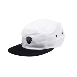 BONÉ 5 PANEL ASP DECKS - WHITE/BLACK