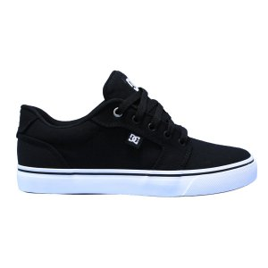 TÊNIS DC SHOES ANVIL TX LA BLACK WHITE