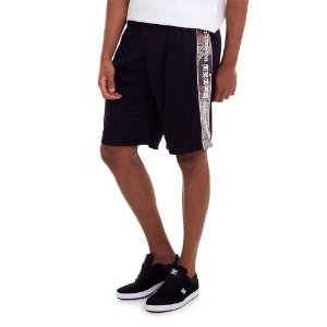 BERMUDA DC SHOES WALKSHORT PRESNEN BASKET - PRETA