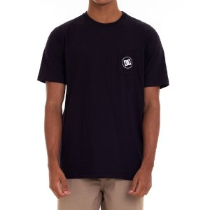 CAMISETA DC SHOES BASIC POCKET - PRETA