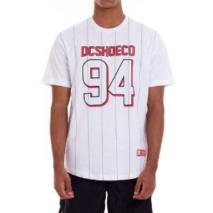 CAMISETA DC SHOES ESPECIAL PAYNES - WHITE/RED