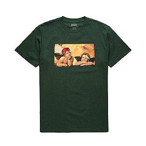 Camiseta DGK Cherubs T-shirt green
