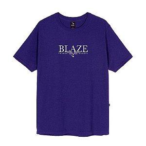Camiseta Blaze supply Tee Leaf Purple
