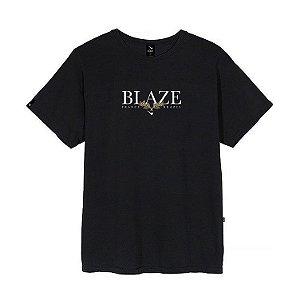 Camiseta Blaze supply Tee Leaf Black