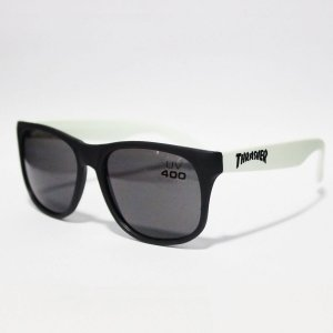 Óculos Thrasher Mag Sunglasses Uv400 Black/White