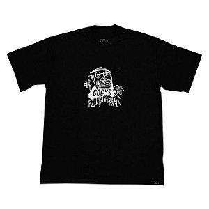 camiseta cocks fuck the rest - preta
