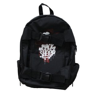 MOCHILA BLACK SHEEP - SKATEBAG - ARMY BLACK