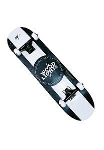 SKATE MONTADO WOOD LIGHT SKATEBOARD BLACK/WHITE
