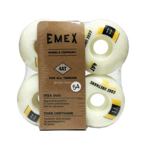 RODA EMEX IMPORTADA CORE URETANE 54MM YELLOW - SERIE 4AT 102a DUO