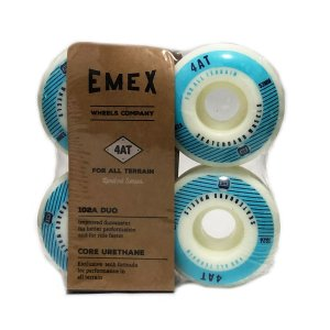 RODA EMEX IMPORTADA CORE URETANE 53MM BLUE- SERIE 4AT 102a DUO