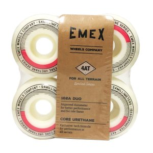 RODA EMEX IMPORTADA CORE URETANE 54MM GREEN/WHITE - SERIE 4AT 102a DUO